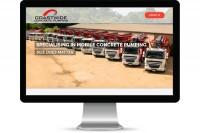 Advantage iT Solutions Web Portfolio - Coastwide Concrete Pumping