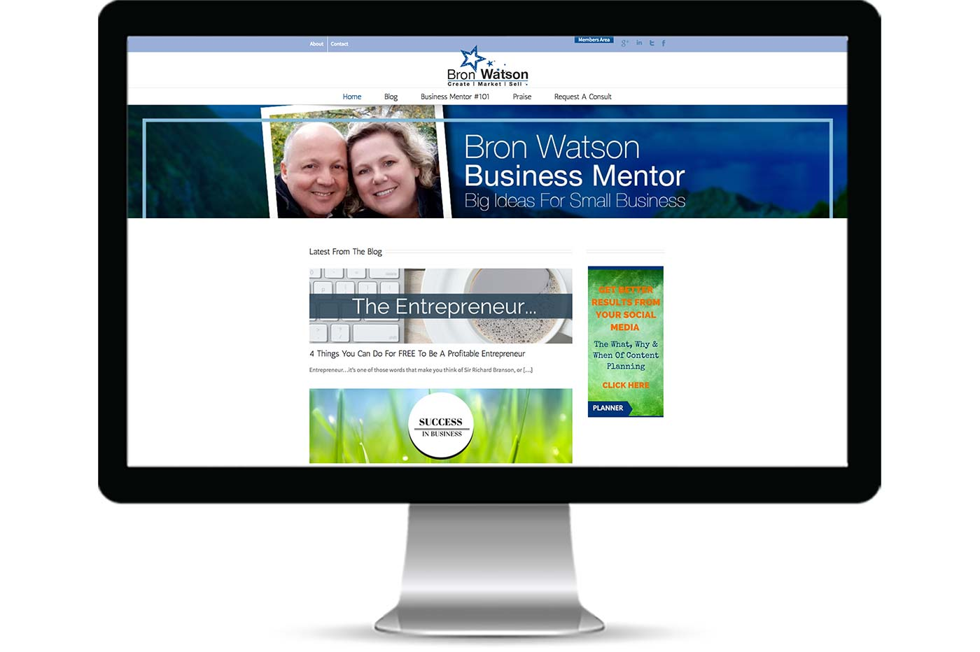 Advantage iT Solutions Web Portfolio - Bron Watson