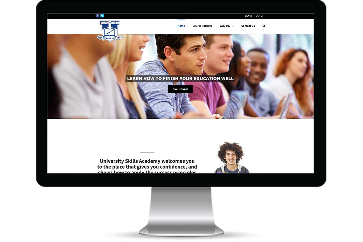 Advantage iT Solutions Web Portfolio - Uniskills Academy