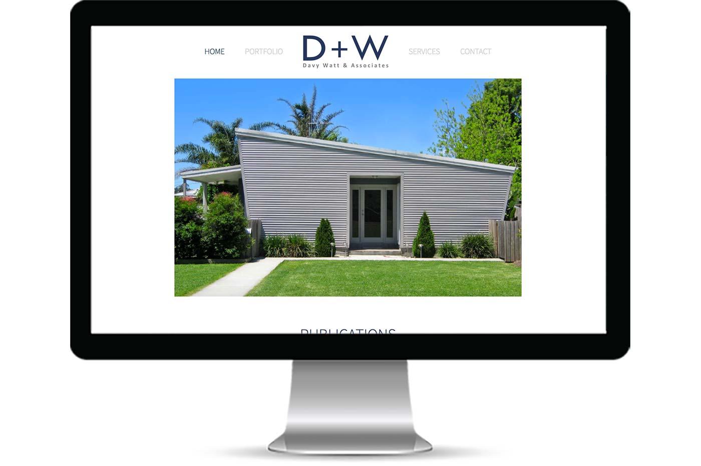 Advantage iT Solutions Web Portfolio - Davy Watt & Associates
