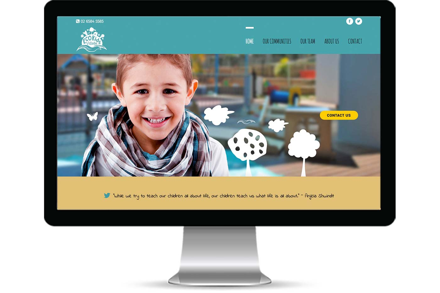 Advantage iT Solutions Web Portfolio - Eco Kids Village