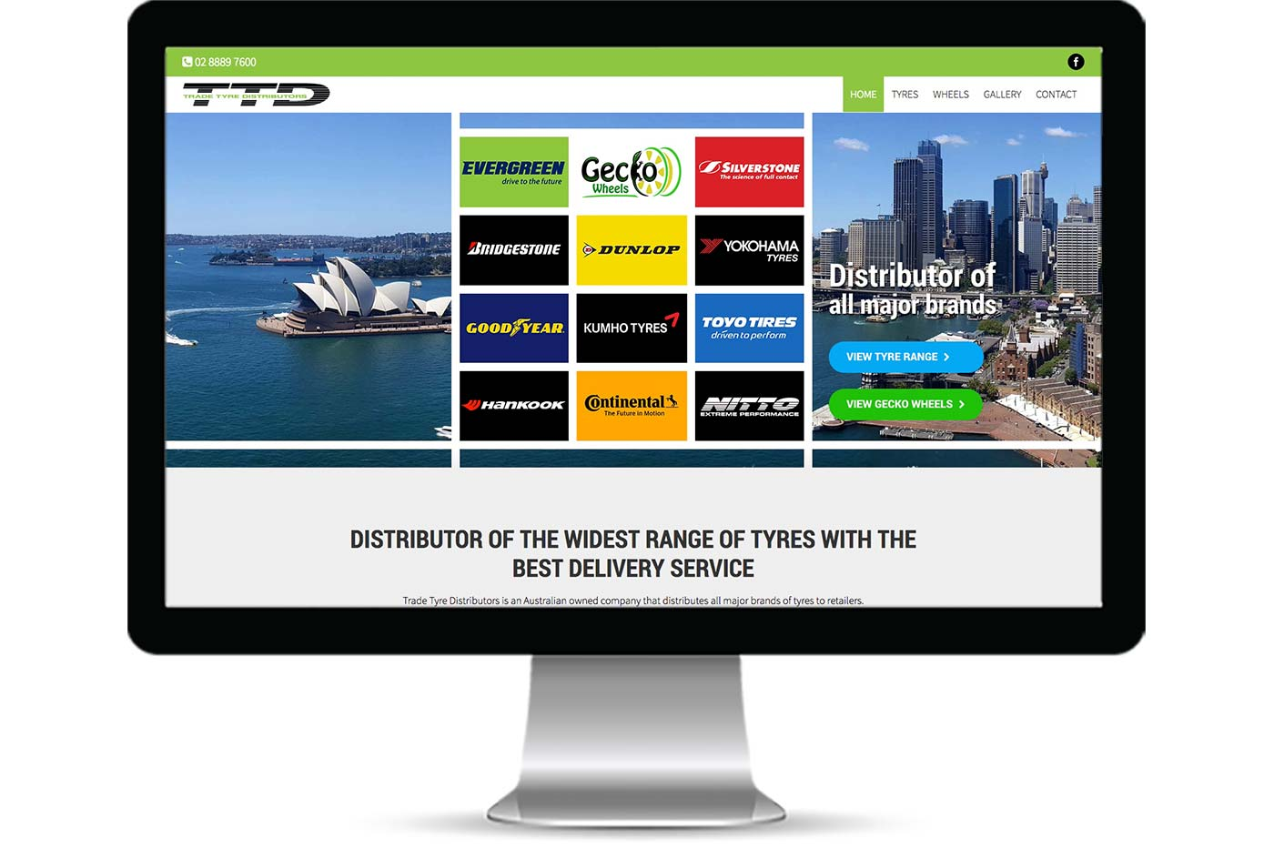 Advantage iT Solutions Web Portfolio - Trade Tyre Distributors