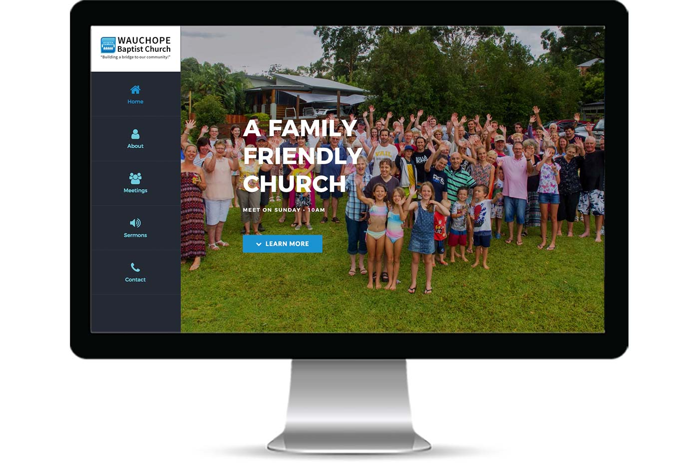 Advantage iT Solutions Web Portfolio - Wauchope Baptist Church